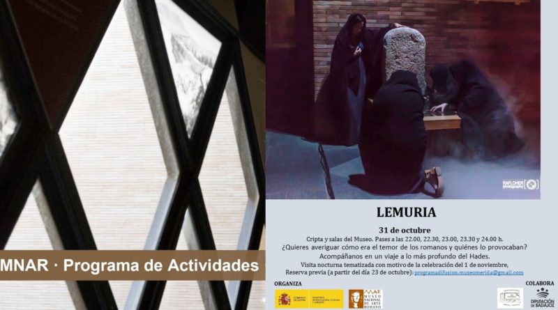 Visita nocturna Tematizada: Lemuria
