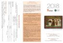 Tríptico de propuestas de actividades para 2018