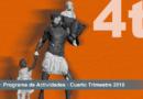 PROGRAMA DE ACTIVIDADES DEL 4º TRIMESTRE – MNAR