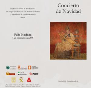Concierto de Navidad @ Museo Nacional de Arte Romano
