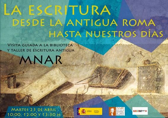 Celebración del Día del Libro en el MNAR