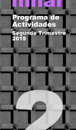 PROGRAMA DE ACTIVIDADES SEGUNDO TRIMESTRE MNAR