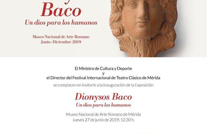 Inauguración de la exposición «Dionysos-Baco. Un dios para los humanos»
