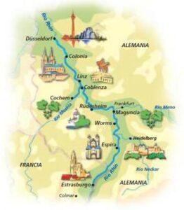 La frontera imperial del Rhin